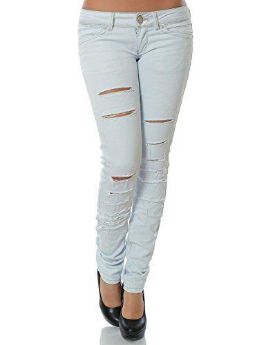 awesome Damen Jeans Hose Skinny (Röhre) No 13907, Farbe:Blau;Größe:40 / L Check more at https://designermode.ml/shop/77028031-bekleidung/damen-jeans-hose-skinny-roehre-no-13907-farbeblaugroesse40-l/