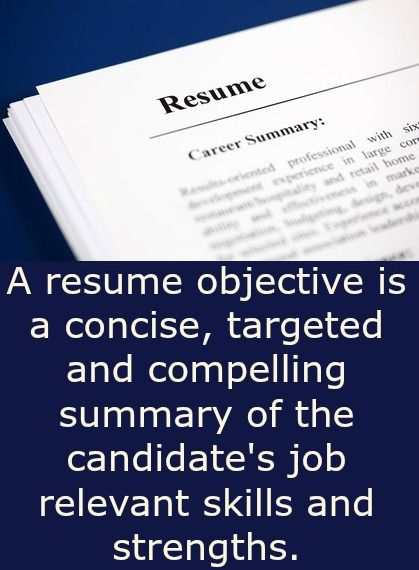 effective resume objective samples that get results how to write a winning objective statement with good examples. Resume Example. Resume CV Cover Letter