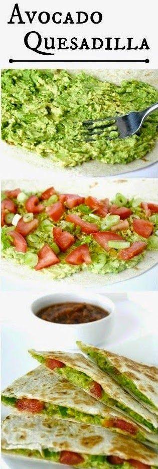 Healthy Avocado Quesadilla