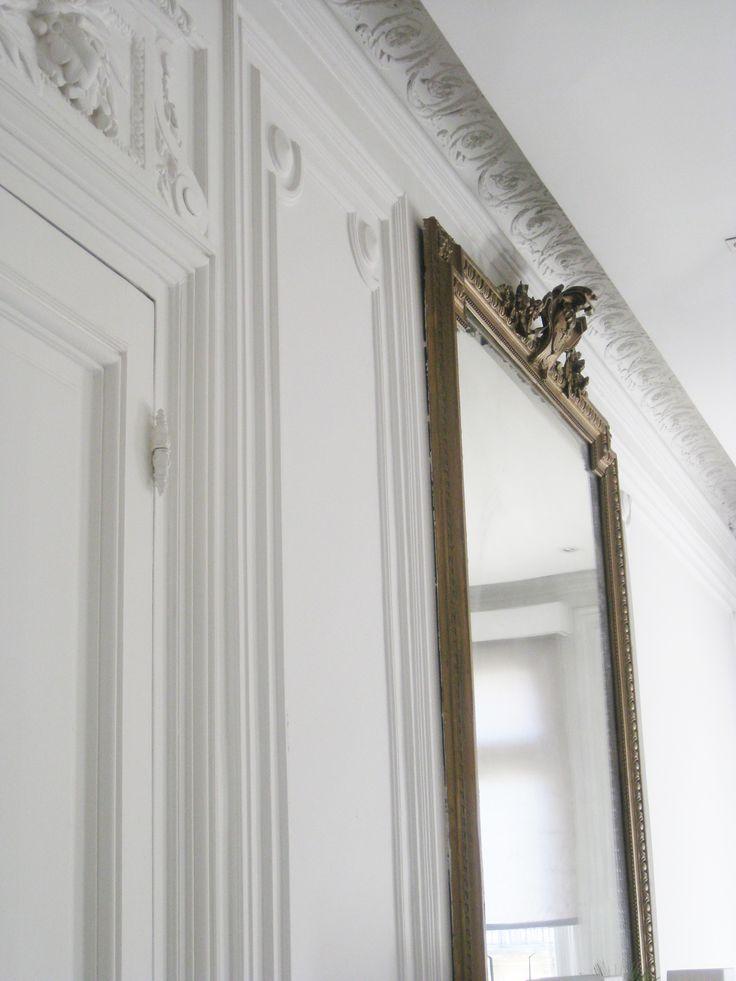 Millwork, crown moulding, even the door hinges - details details details
