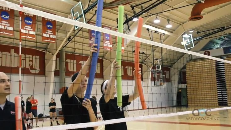 Swim Noodle Drill for Crafty Shot Making - AVCA Video Tip