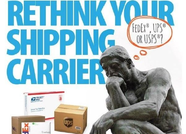 Use this FedEx vs. UPS vs. USPS shipping rates comparison chart to determine the most affordable shipping carrier for your business.