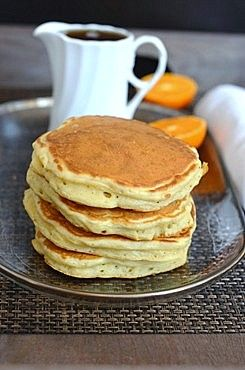 Fluffy Yeast Pancakes by @FoodWanderings
