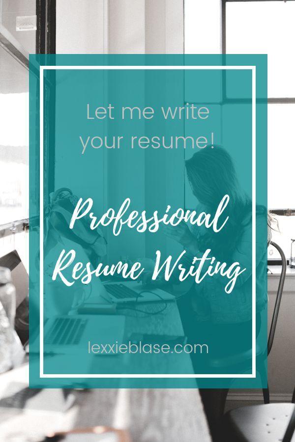 Professional Resume Writing Service Custom Resume Copywriting