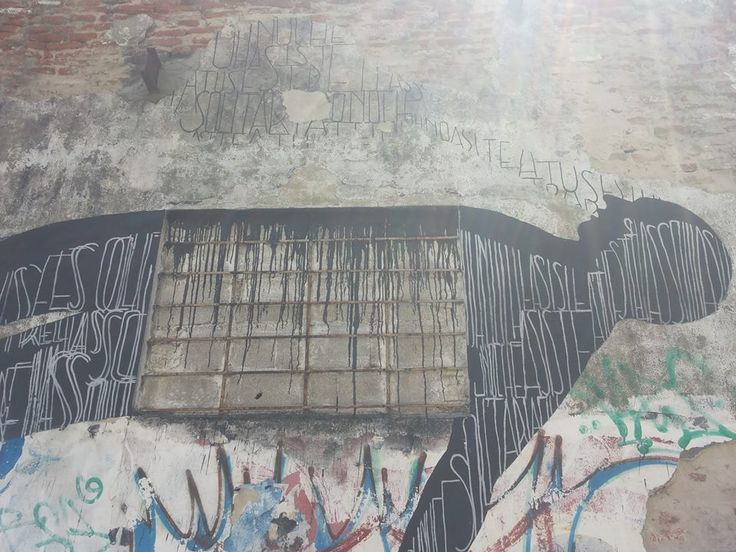 "Opiemme + David de la Mano - ""Asuncion"" - Montevideo - 02/2015 -  \*/  #opiemme #streetart"
