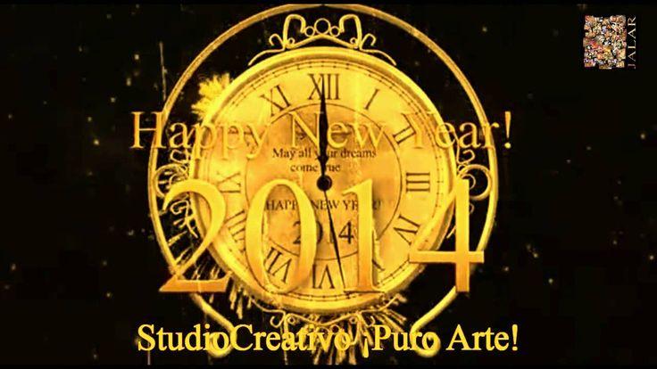 Jesús Alberto Arbeláez Arce y StudioCreativo ¡Puro Arte! les desean un venturoso Año Nuevo 2014, colmado de Prosperidad, Arte y Conocimiento. ¡FELIZ AÑO NUEVO!