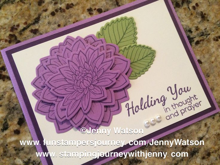 Dahlia Burst Bundle - FSJ by jwatson9702 - Cards and Paper Crafts at Splitcoaststampers