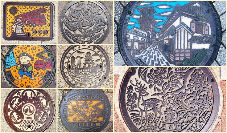 Las tapas de alcantarilla en Japón, las obras de arte a tus pies | Japón Entre Amigos | Japón Entre Amigos