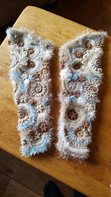 De mouwen zijn ook klaar fb: handmade by jenny jhn