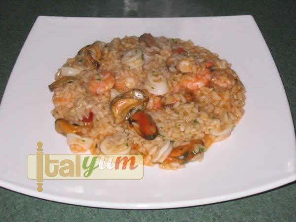 Seafood risotto (Risotto alla pescatora) | Risotto recipes WebPhoto 1a