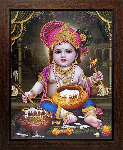 Lord Krishna / Shree Krishna / Baby Krishna / Bal Krishna... https://www.amazon.com/dp/B01EFYGJJW/ref=cm_sw_r_pi_dp_0PVyxbEDXYFCH