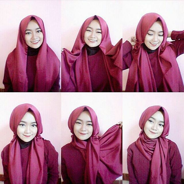 Hijab tutorial by @andaraden #everydayhijabtutorials