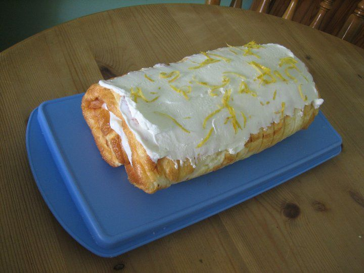 Slimming World Recipes: LEMON & LIME HALF SYN ROULADE