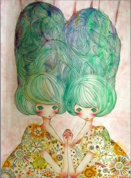 okadamariko illustration