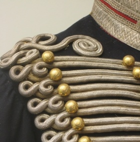 Crimean War British Officer Royal Horse Artillery detail c1854