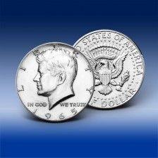 """Pamětní 1/2 dolar """"John F. Kennedy"""""""