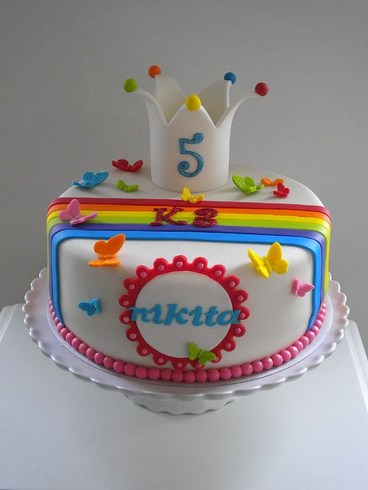 K3 Taart Cakes By Me Pinterest Cakes Rainbows And
