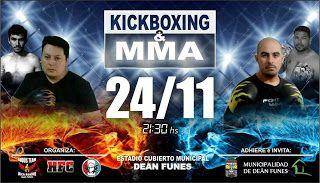Así Somos: Kickboxing y MMA en la ciudad de Deán Funes