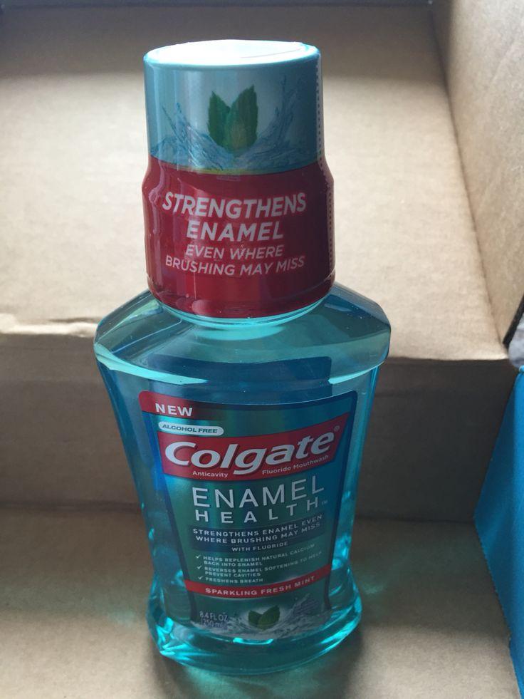 Colgate Enamel Heath mouth wash