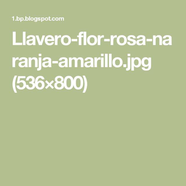 Llavero-flor-rosa-naranja-amarillo.jpg (536×800)