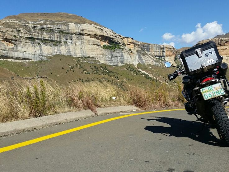 BMW 1200gs enjoying Golden Gate RSA!