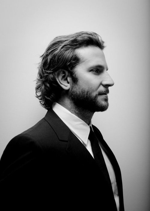 Bradley Cooper. I they make a fifty shades movie... he should be the face of Christian Grey.