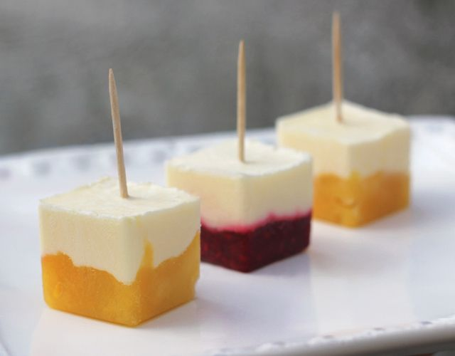 Ice Cube Tray Creamsicles Juneberry Lane: FROSTED: A Delightful Array...Of Desserts Made In A Tray!!