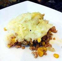 Slimmed down shepherd's pie - low fat, low cal, low sugar - high protein