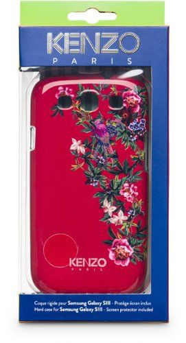 KENZO - COVER EXOTIC GALAXY S3  #Bigben #Wireless