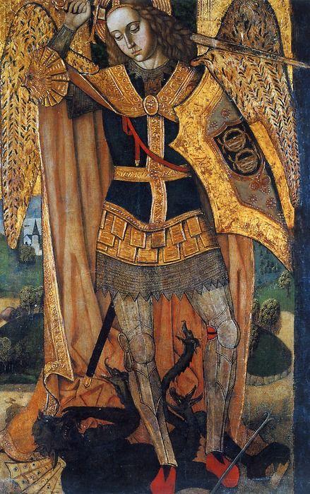 rhaegartargaryen:        in-quo-totum-continetur:            Archangel Michael,Master of Castelsardo, 16th century (source)