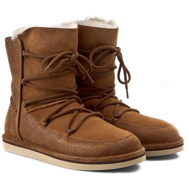 Buty UGG - W Lodge 1007710 Chestnut