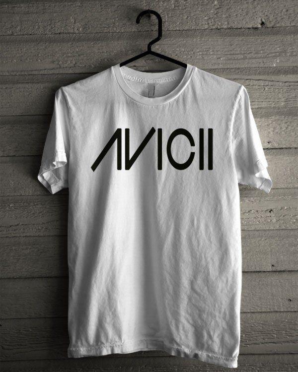 Avicii Logo Shirt | T-shirt Tees Tshirt Tanktop