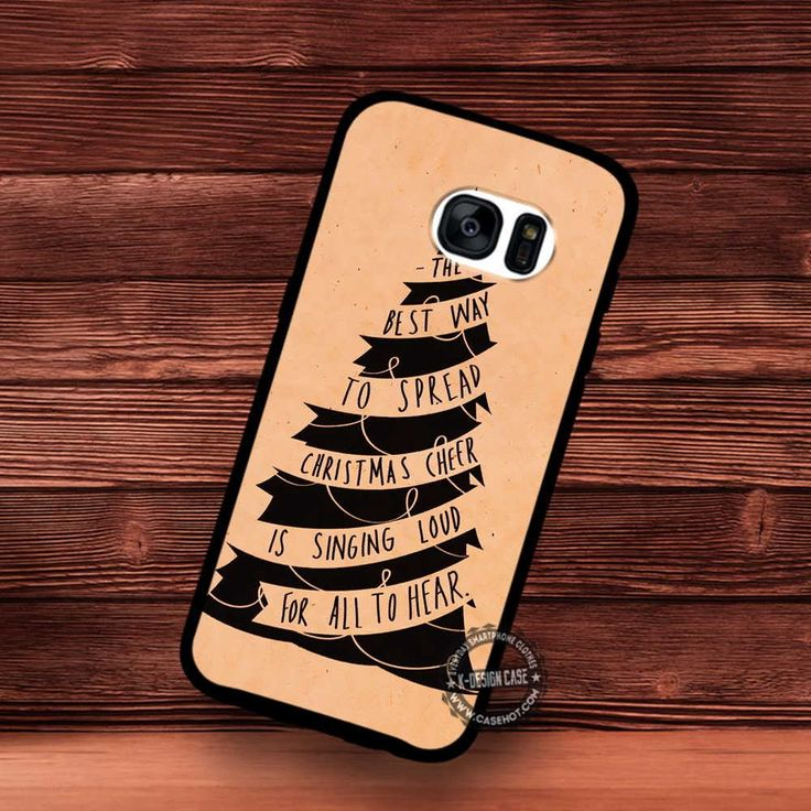 Original Elf Quote Christmas Card - Samsung Galaxy S7 S6 S5 Note 7 Cases & Covers