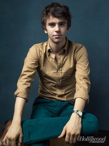 Freddie Highmore. Such a good actor, and grew up to be super cute! Plus he's only a year older than me.