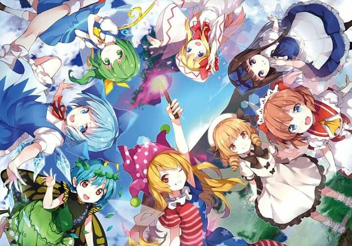 the gensoukyou fairies アニメの壁紙 かわいいアニメの写真 東方 かわいい