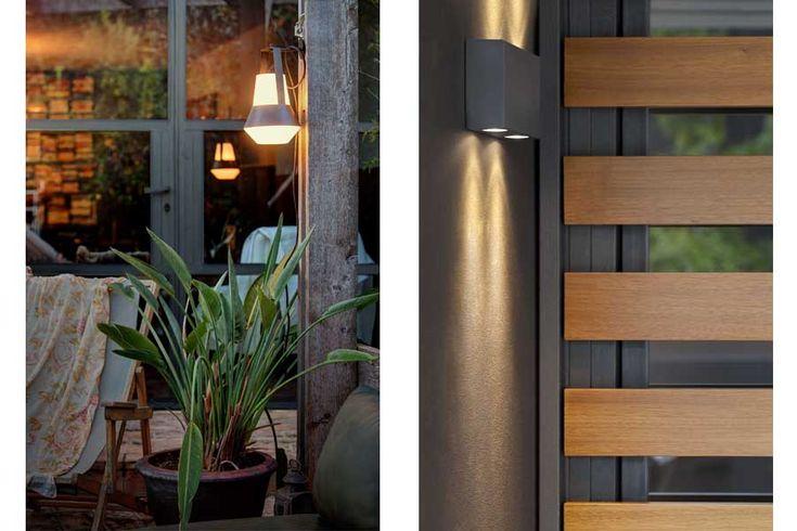 Apliques de exterior, complementos de jardín perfectos. Faro Barcelona.