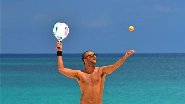 Torneo Internacional de Beach Tennis en Aruba #Aruba #Beach #Tennis #Sports #OneHappyIsland