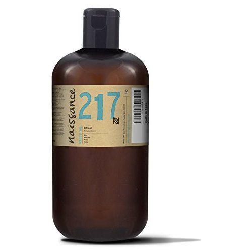 Naissance kaltgepresstes Rizinusöl 1 Liter (1000ml) - vegan, hexanfrei, gentechnikfrei