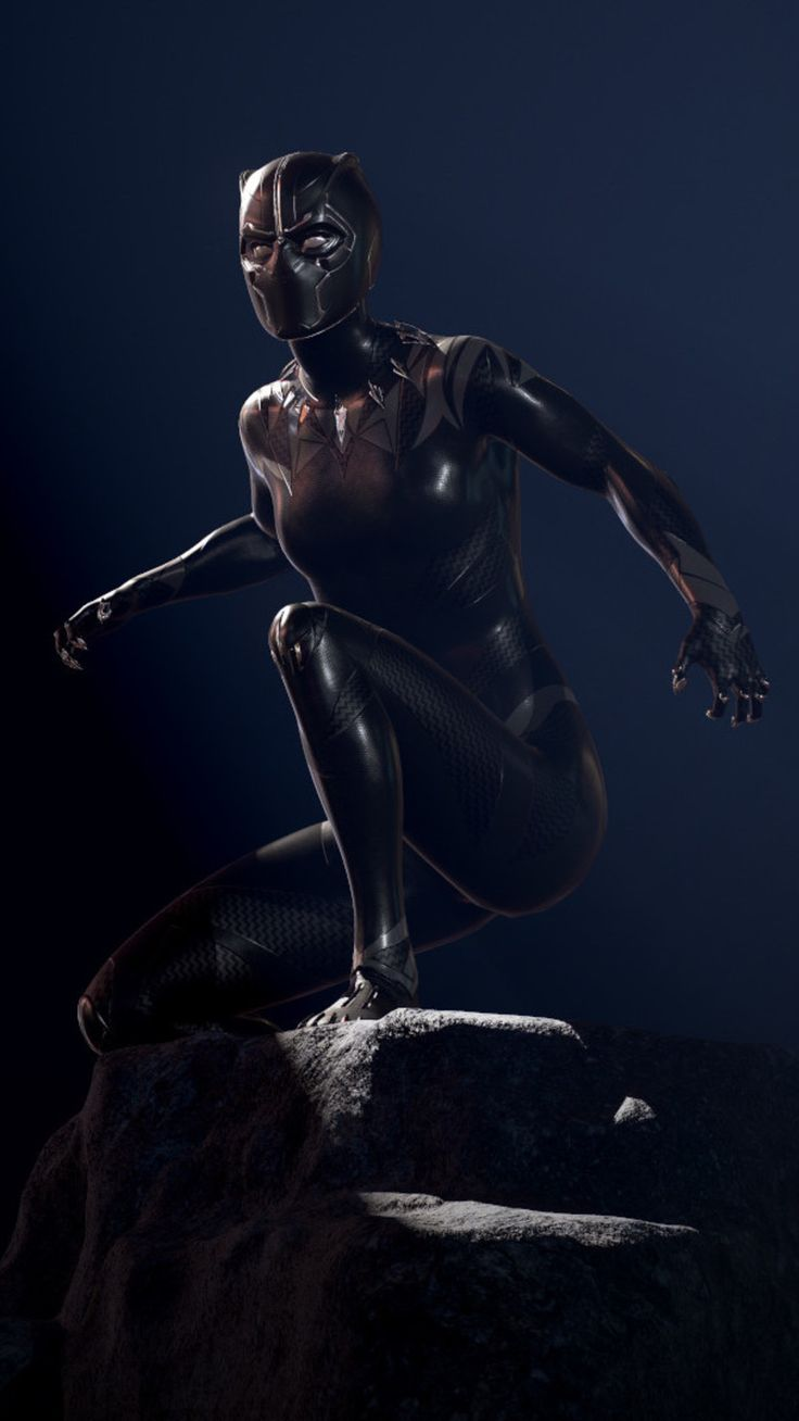 Shuri The Black Panther Mobile Wallpaper (iPhone, Android ...