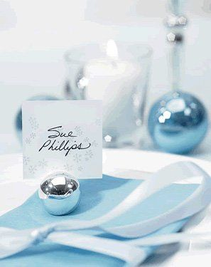round silver ball place card holders set of wedding star from wedding favors unlimited