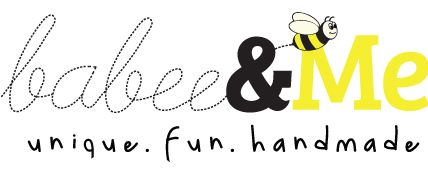 Babee & Me. Unique handmade products for children