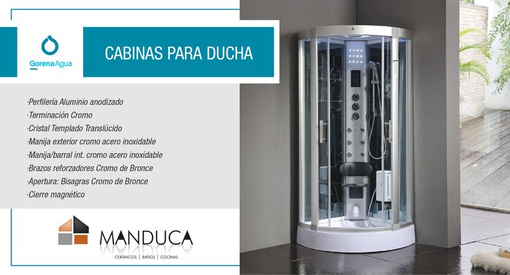 Cabinas De Ducha Para Gimnasios:Gorena Agua, Mamparas y Cabinas de Ducha, sistemas de Hidroterapia e