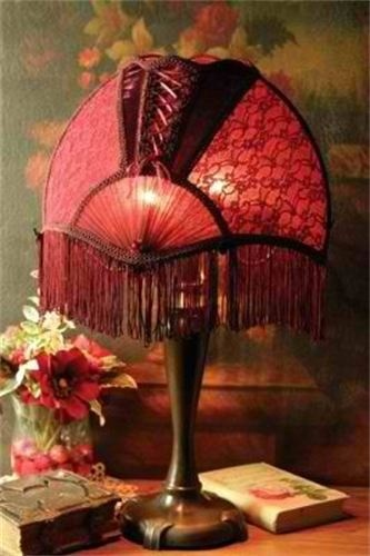 17 Best Images About Victorian Lampshades On Pinterest