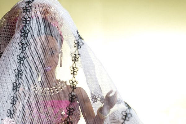 Nigerian Barbie gets married