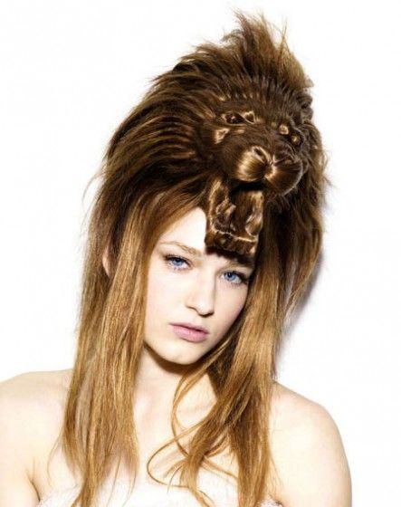Met de hoed in het haar ... of is het nu het haar in de hoed?