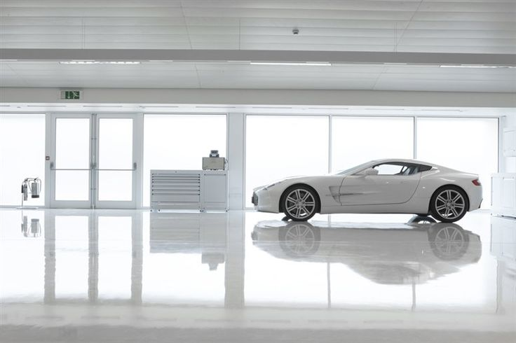 The latest baby from the English company, founded in 1913, is the One-77, a high-performance sports car currently being produced at Aston's new manufacturing headquarters in Warwickshire on NOWNESS.