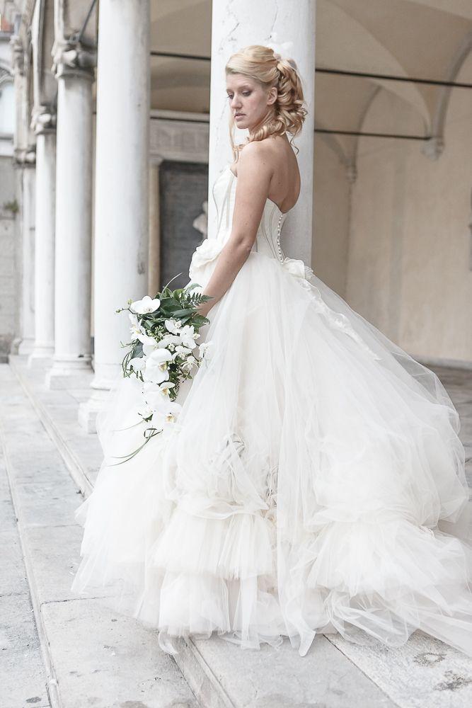 Wedding bouquet Udine #Udine #bouquet  www.aliceweddingplanner.com