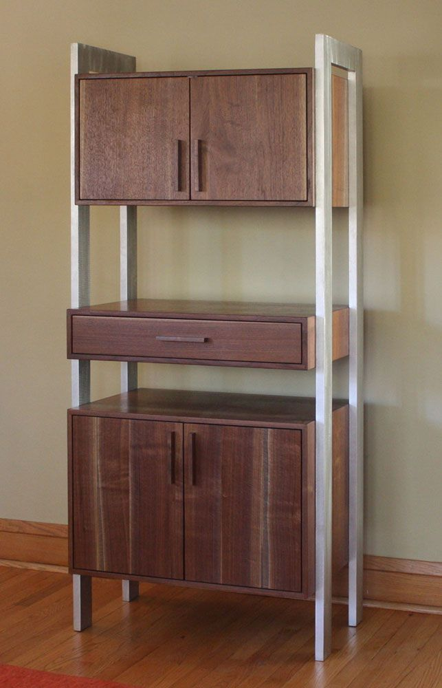 Solid Reclaimed Hardwood Hutch   Perfect For Any Dining Room. Made From  Fallen Chicago Black · HardwoodPortfolio DesignCustom FurnitureChicagoMid  ...