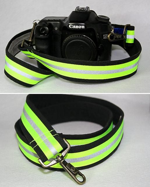 Turnout Gear Trim Camera Strap | Shared by LION