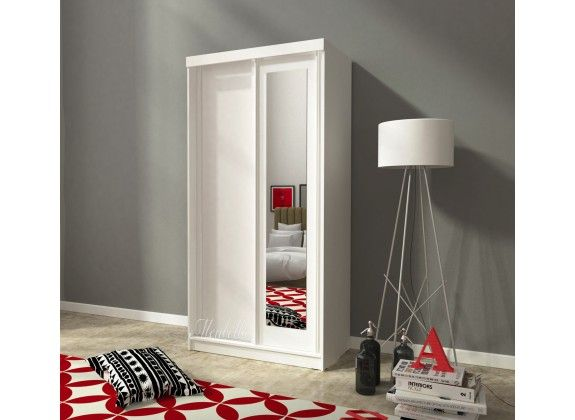 25+ beste idee u00ebn over Witte kledingkast op Pinterest   Slaapkamer kasten en Slaapkamer garderobe